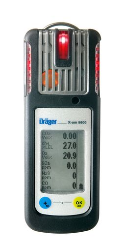 Dräger X-am 5600 5 Gas Set
